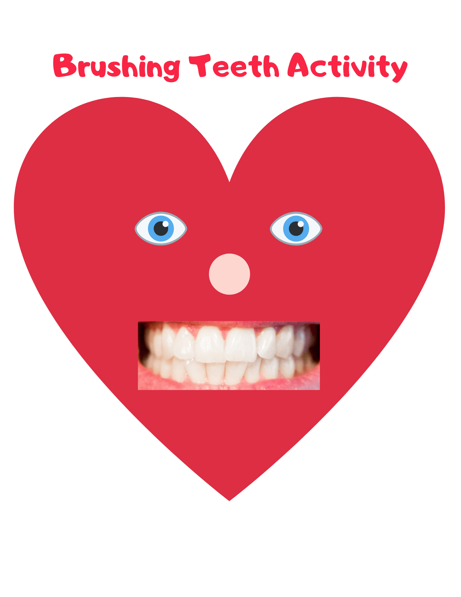 Brushing Teeth Activity: The best activity for toddlers that teaches them an important life skill. 1